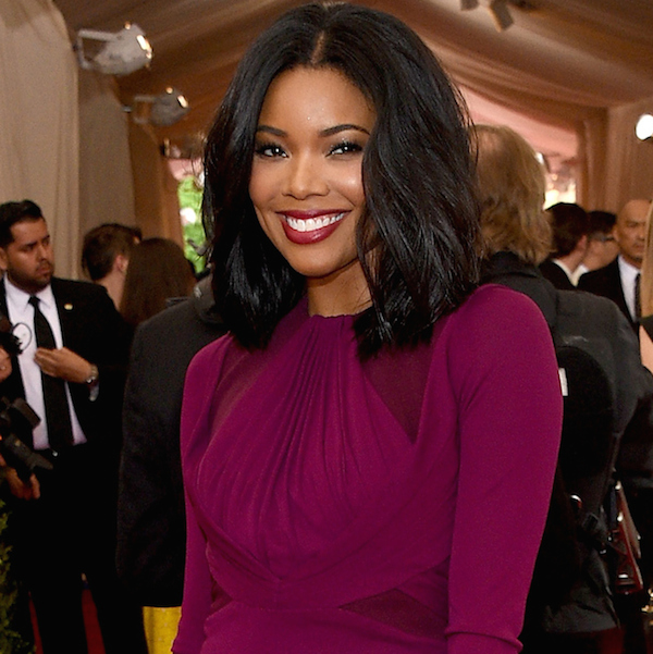"""NEW YORK, NY - MAY 04: Gabrielle Union attends the """"China: Through The Looking Glass"""" Costume Institute Benefit Gala at the Metropolitan Museum of Art on May 4, 2015 in New York City. (Photo by Larry Busacca/Getty Images)"""
