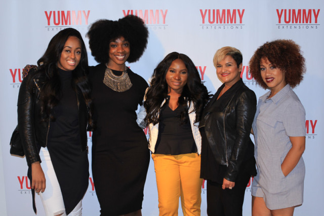 YummyHair Extensions Pop-Up Shop