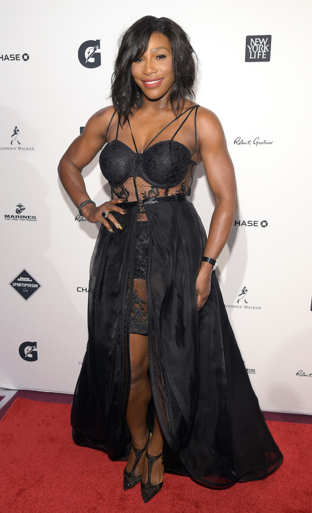 Serena Williams at SI Sportsperson Of The Year Ceremony