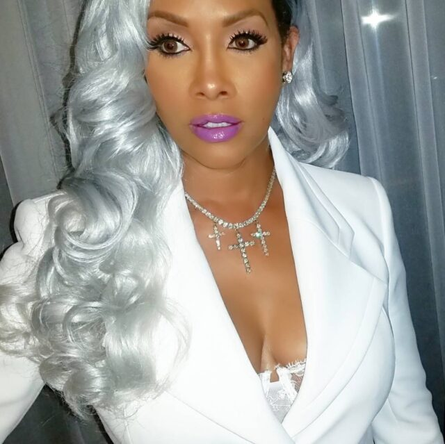 Vivica Fox Amp 15 Other Celebs Who Ve Slayed The Grey Hair Trend
