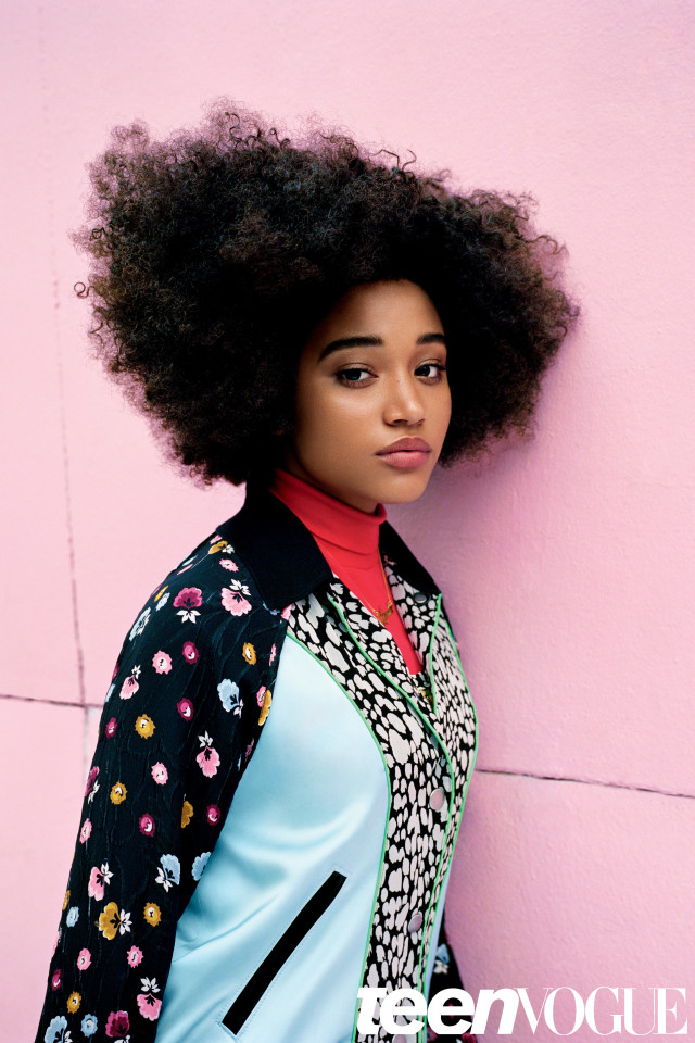 Amandla Stenberg X Teen Vogue