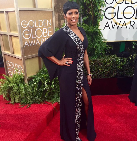 Tamron Hall X Golden Globes