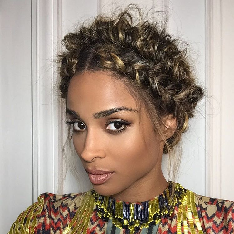 How To Get Ciara S Pfw Double Braided Crown
