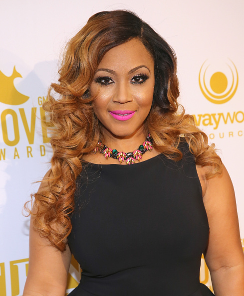 Erica Campbell x 46th Annual GMA Dove Awards - Arrivals
