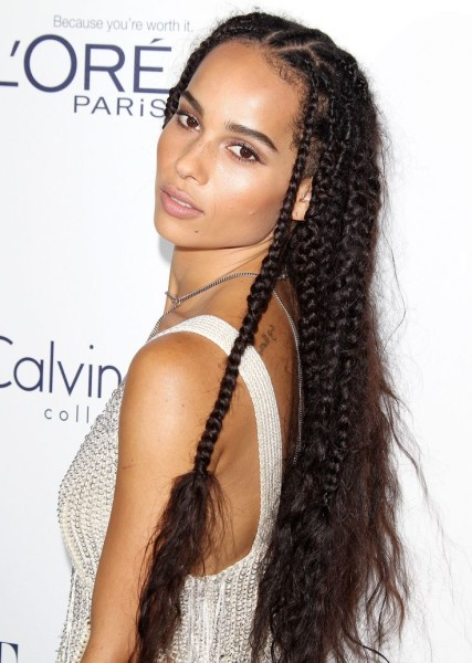 zoe kravitzs 7 best braided hair moments