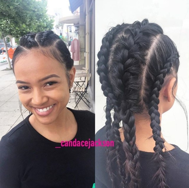 Karrueche Wows With Another Braided Style