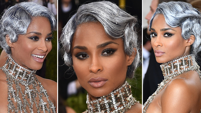 Ciara x 2016 Met Gala x finger waves