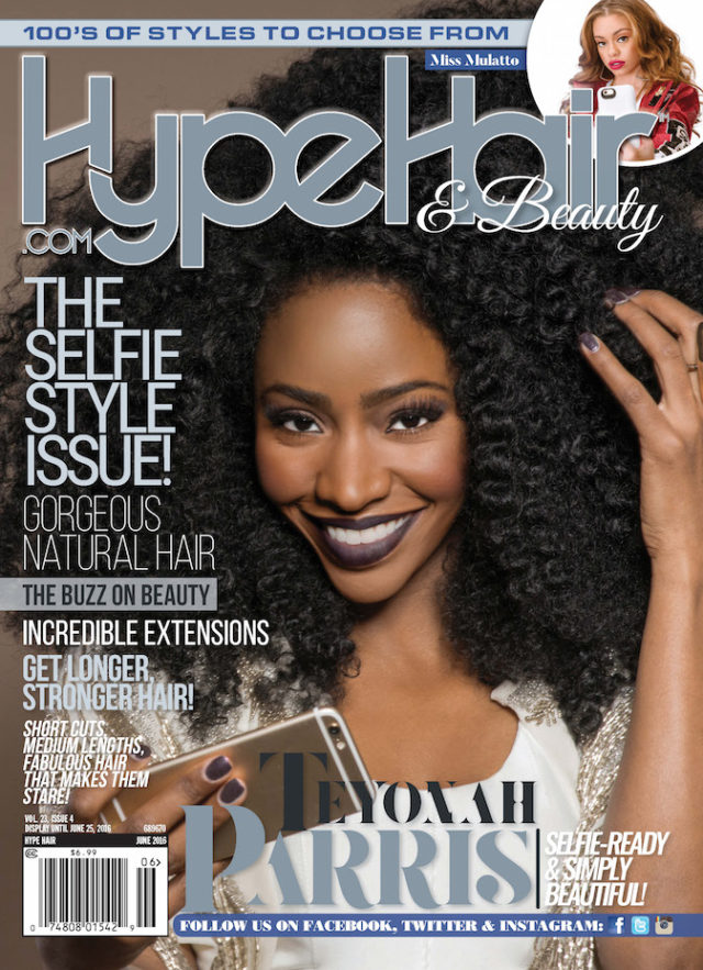 Hype Hair X Teyonah Parris X Selfie Issue
