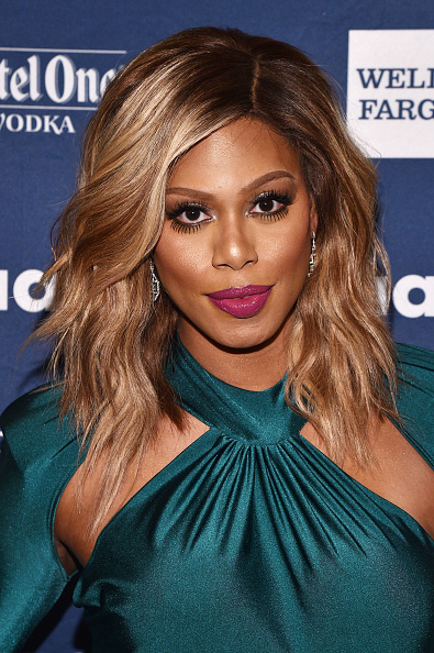Laverne Cox x 27th Annual GLAAD Media Awards