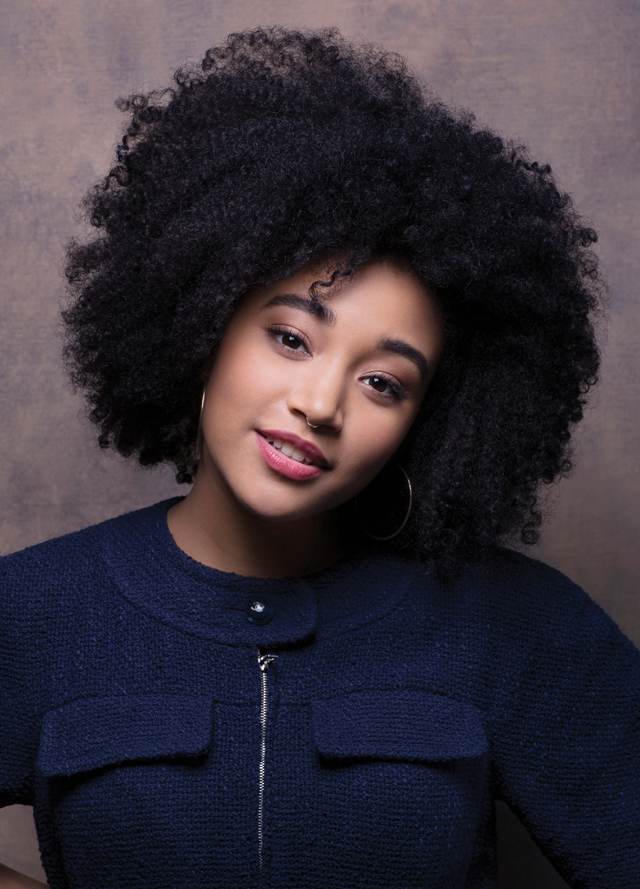 Hair Crush Amandla Stenberg S Wondrous Curls