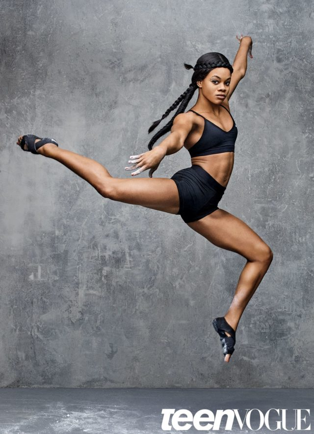 Gabby Douglas x Teen Vogue