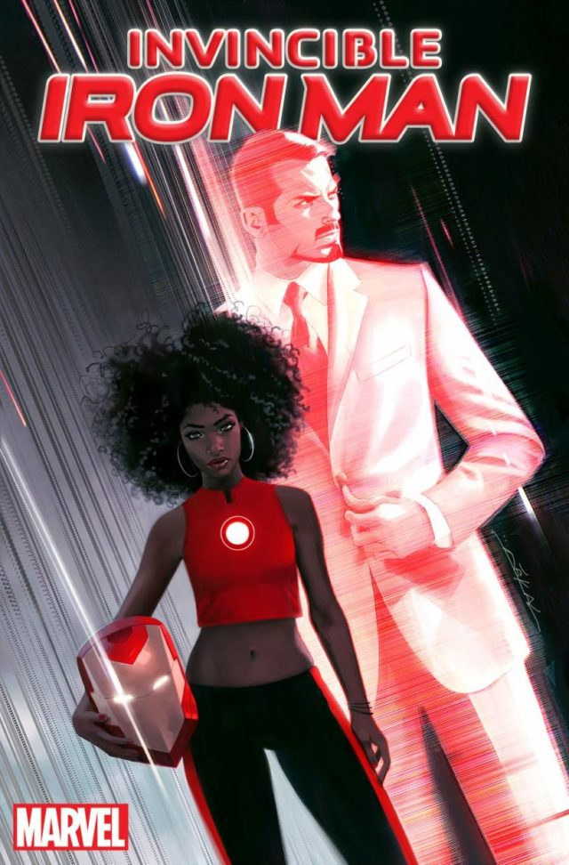 Iron Man x Riri Williams