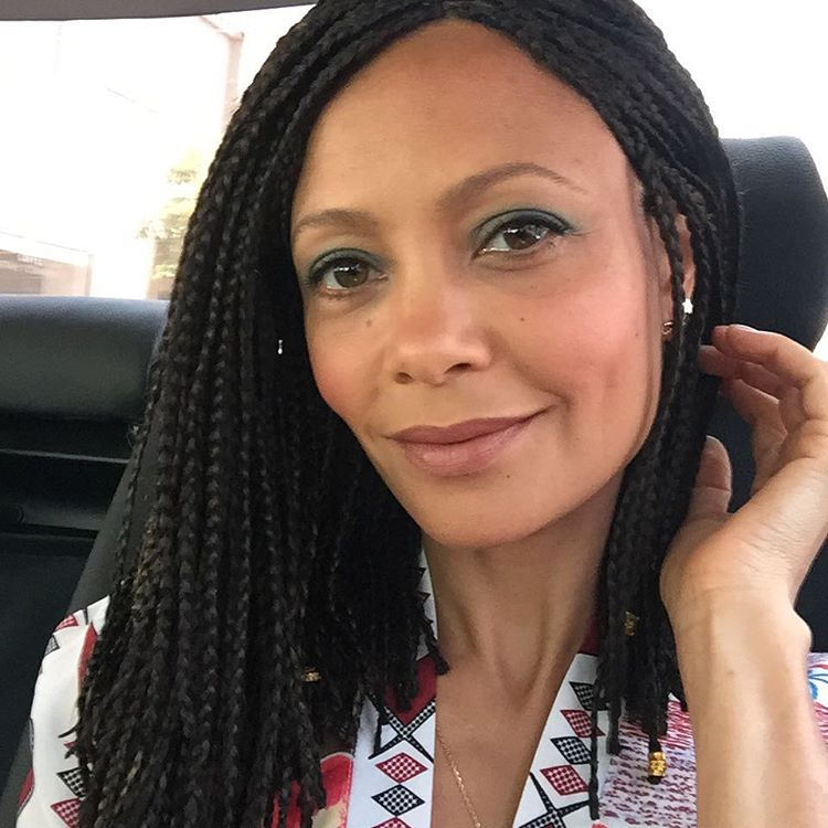 Thandie Newton Rocks Cleopatra Inspired Box Braids