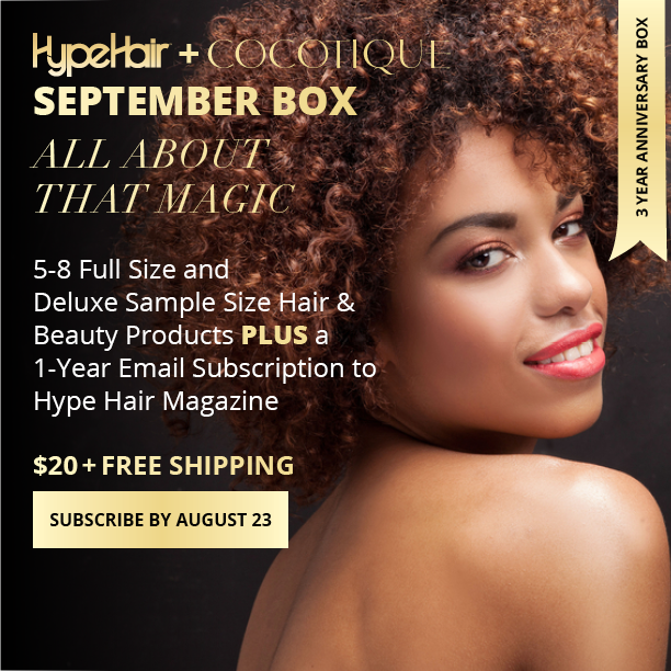 The Hype Hair + COCOTIQUE September Beauty Box Is Here