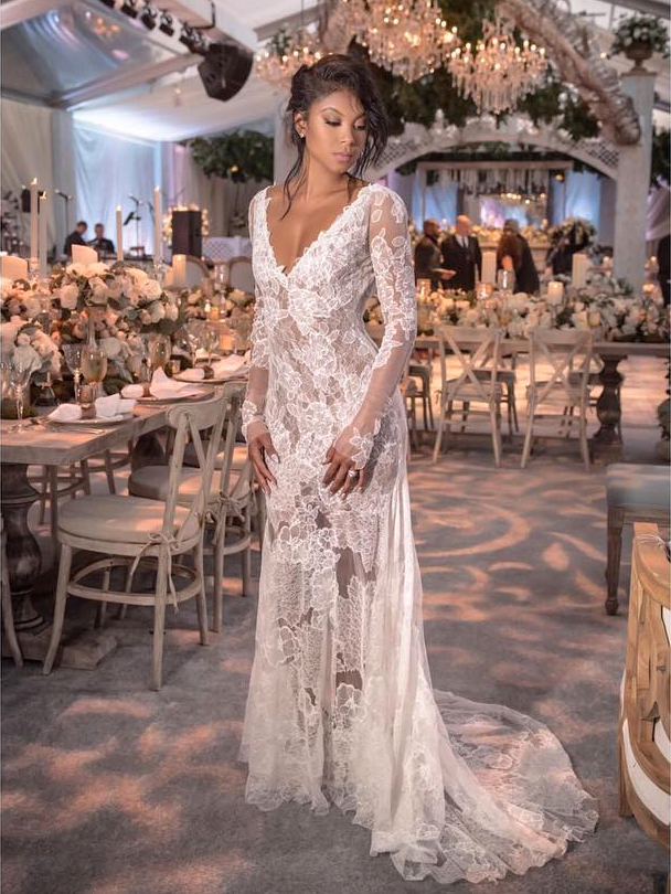 Eniko parrishs stunning vera wang wedding dresses eniko parrish x kevin hart x vera wang junglespirit Image collections