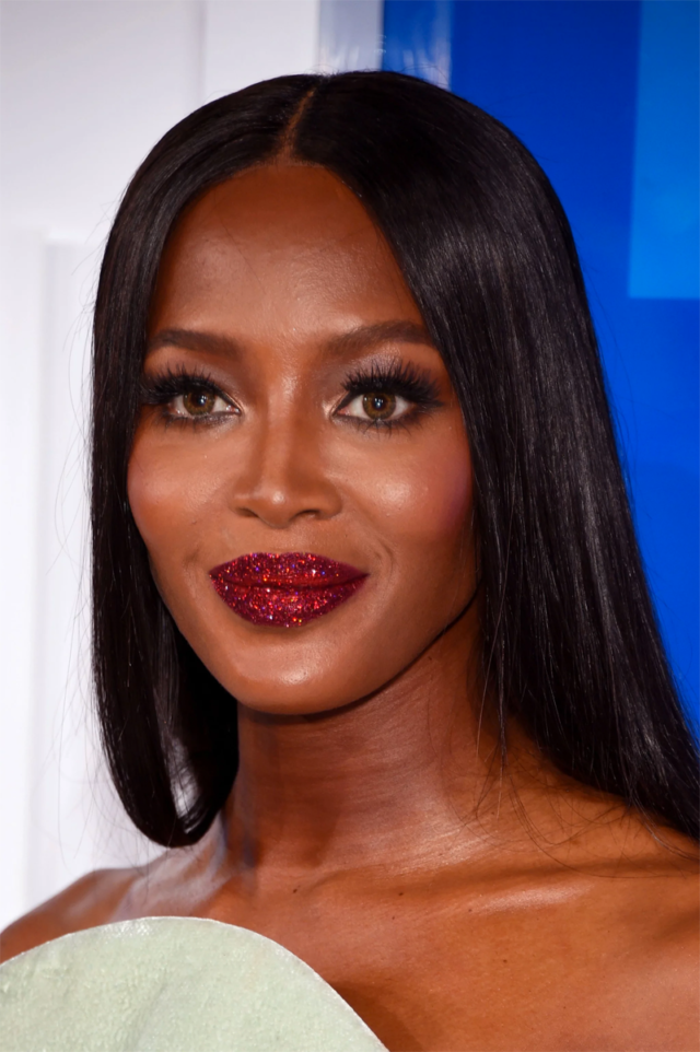Naomi Campbell S Vmas Lip Game Is Everything