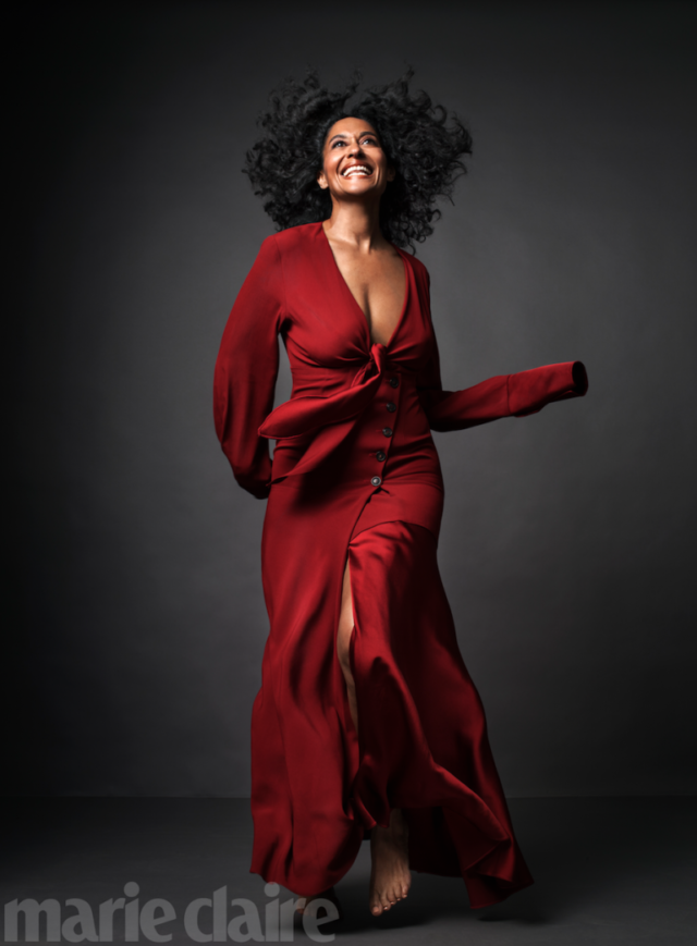 Tracee Ellis Ross X Marie Claire October 2016