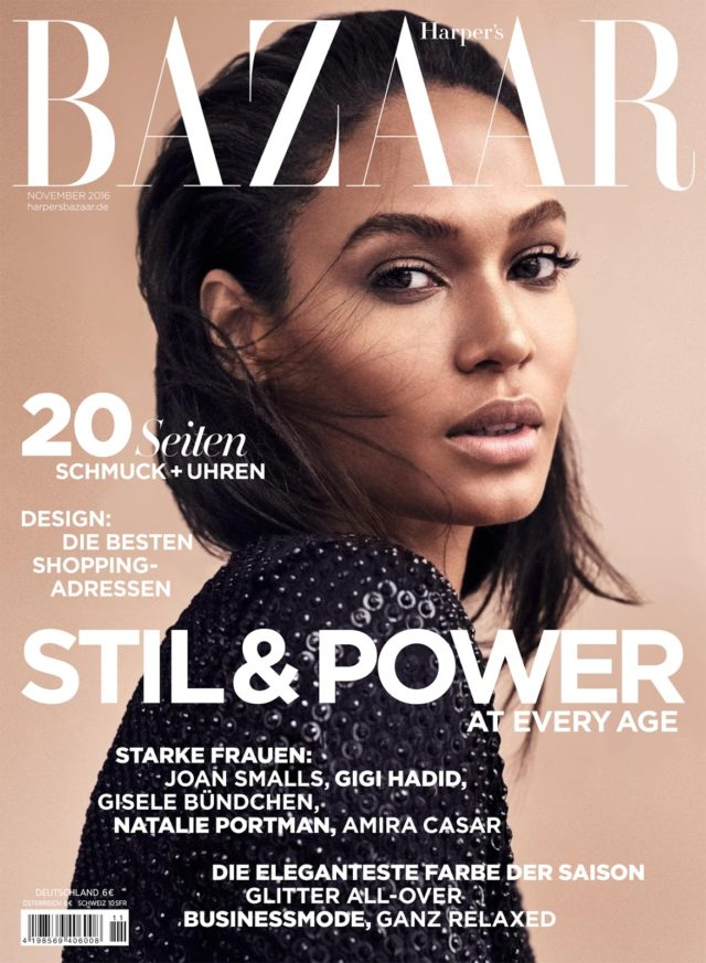 Joan Smalls x Harper's Bazaar Germany