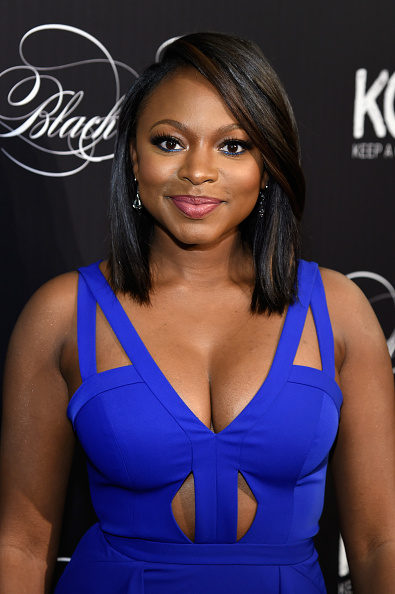 Naturi Naughton Debuts New Bob At Keep A Child Alive S