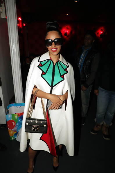 Cardi B Stuns In Gucci Amp Twisted Top Knot At Love Amp Hip
