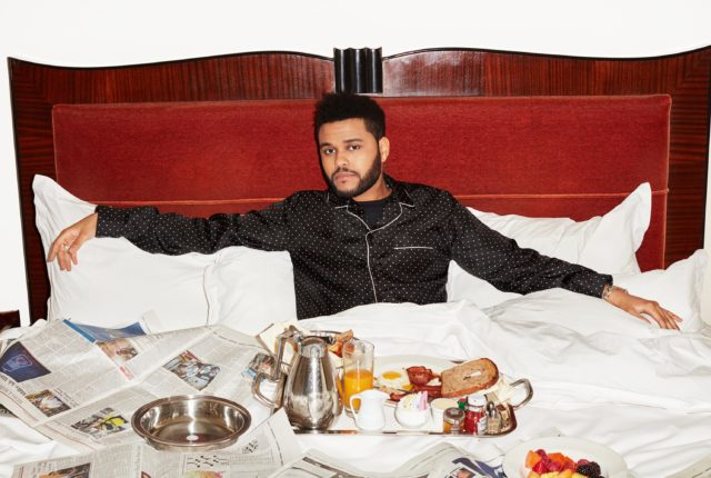 The Weeknd X Wall Street Journal
