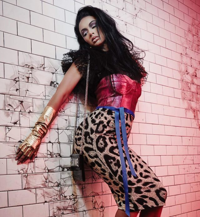 Close up draya michele gets 80s chic for galore photo credit ben duggan voltagebd Images