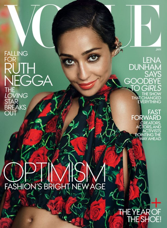 Ruth Negga x Vogue