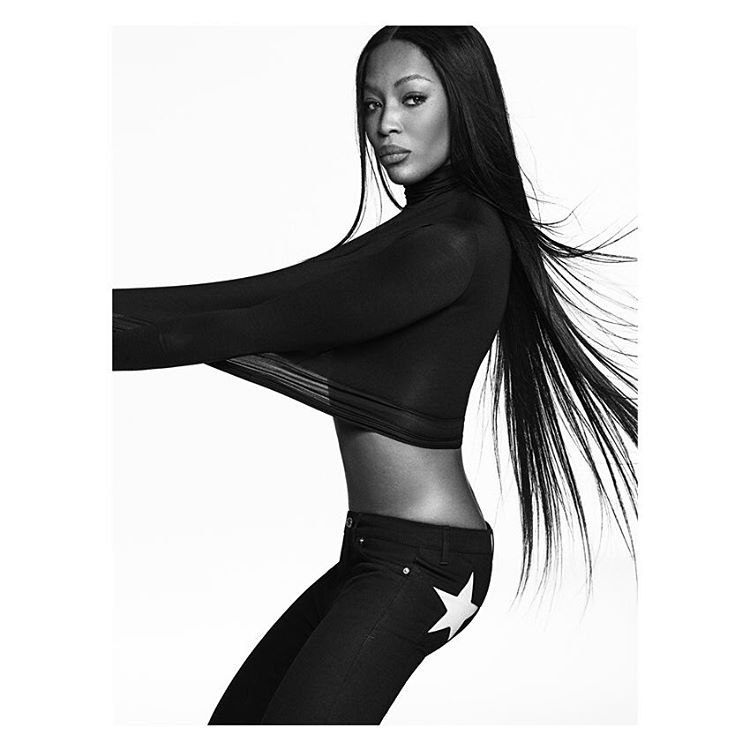 Naomi Campbell Is Face Of New Givenchy Campaign