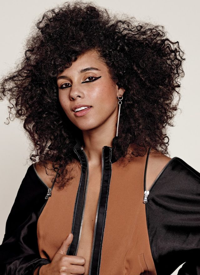 Alicia Keys X Allure