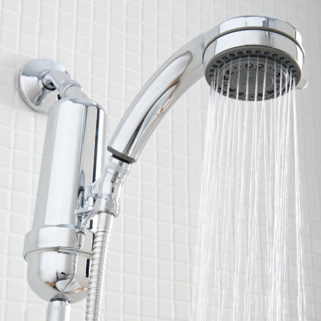 shower head water filter