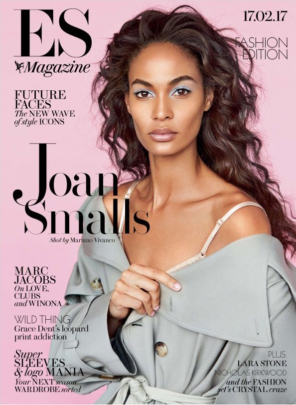 Joan Smalls X Evening Standard Feb 17, 2017