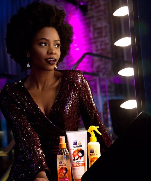 Teyonah Parris for Dark and Lovely