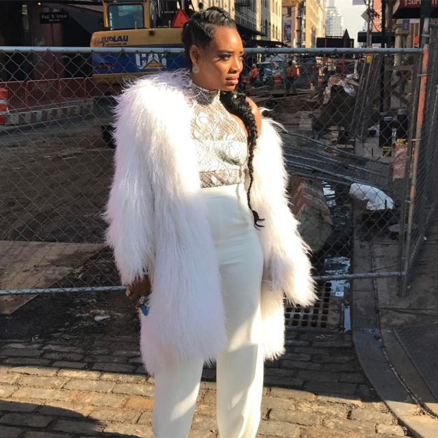 Yandy Smith Shows f Not e But Two Glam Braided Looks