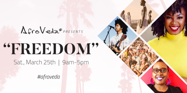 AfroVeda Freedom Natural Hair Event