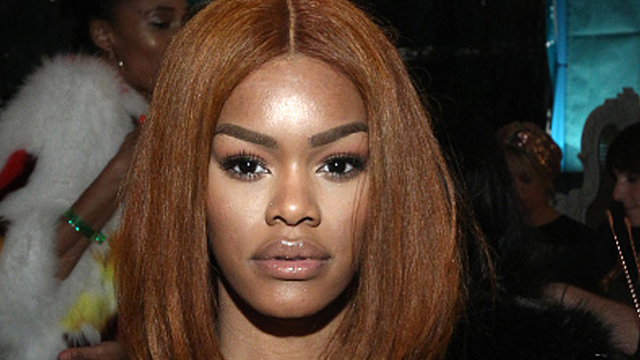 hype or hmm teyana taylor rocks orange jumbo box braids