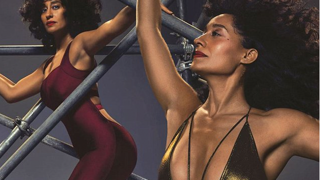 Close Up Tracee Ellis Ross Shows Off Toned Body Goals In