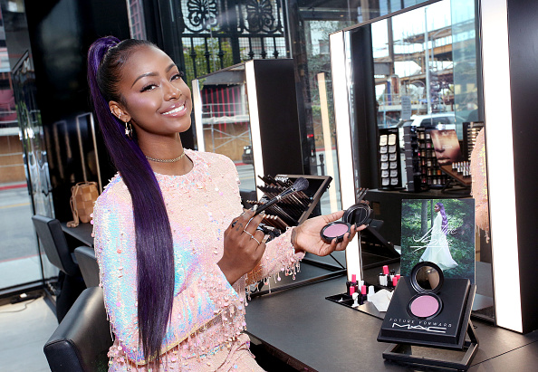 Justine Skye x M.A.C. Cosmetics Future Forward