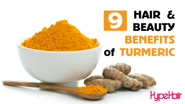 turmeric hair & beauty benefits