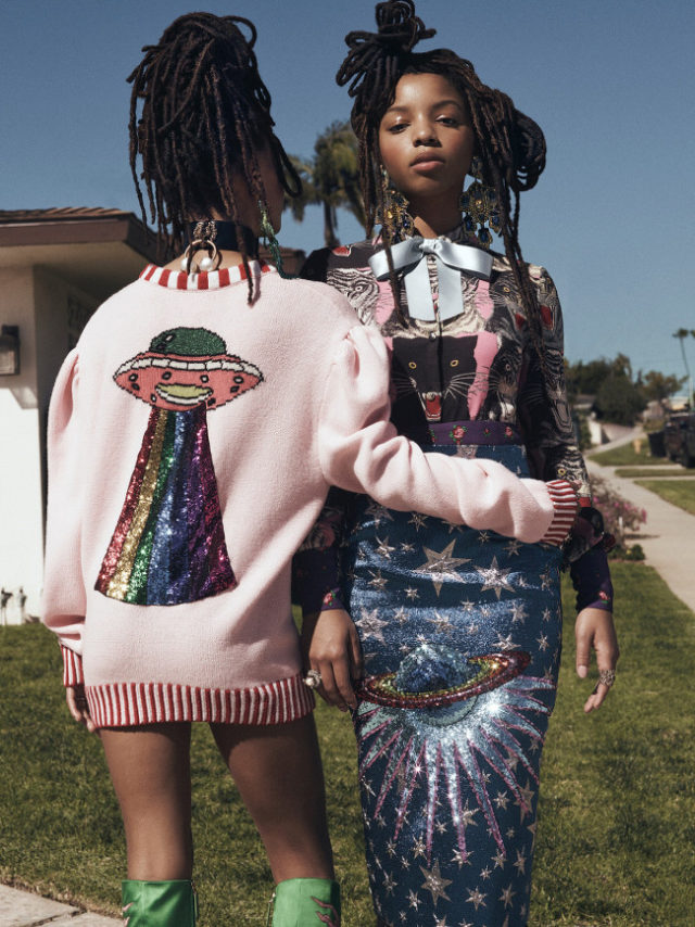 Chloe X Halle x Instyle June 2017