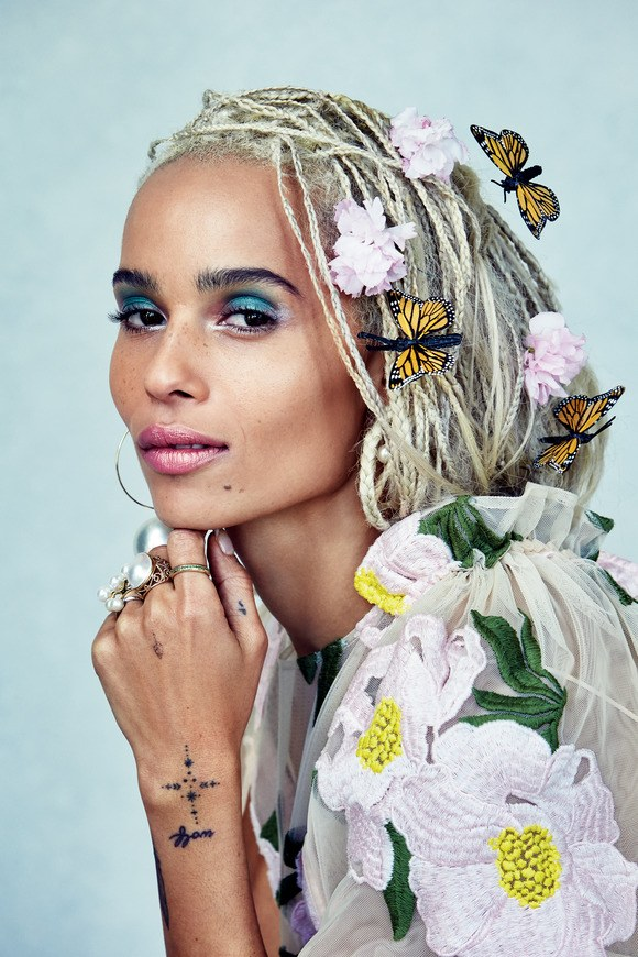 Zoë Kravitz X Allure June 2017