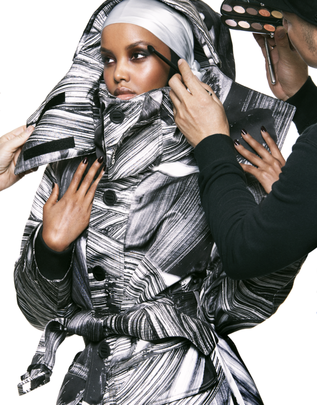 Halima Aden X Vogue Arabia