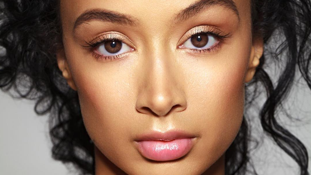 Close Up Draya Michele Serves Face For Pleezer Mag