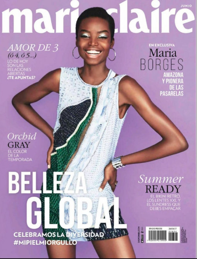 Maria Borges x Marie Claire Mexico