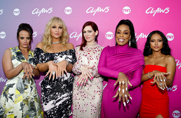 Judy Reyes, Jenn Lyon, Carrie Preston, Niecy Nash and Karrueche Tran