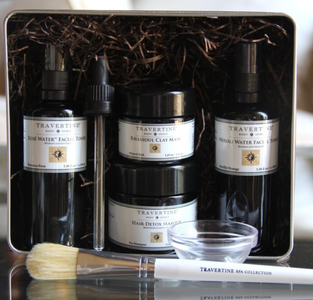 Travertine Spa Clay Collection Kit