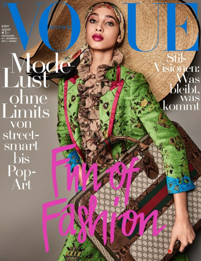 Vogue Germany X August 2017