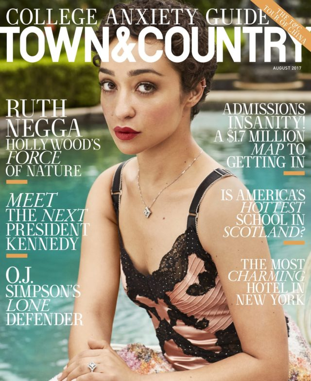 Ruth Negga X Town & Country USA August 2017