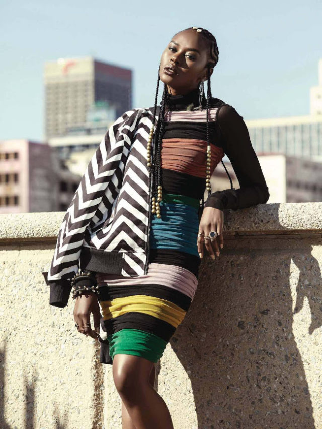 Lindiwe Dim X ELLE South Africa August 2017