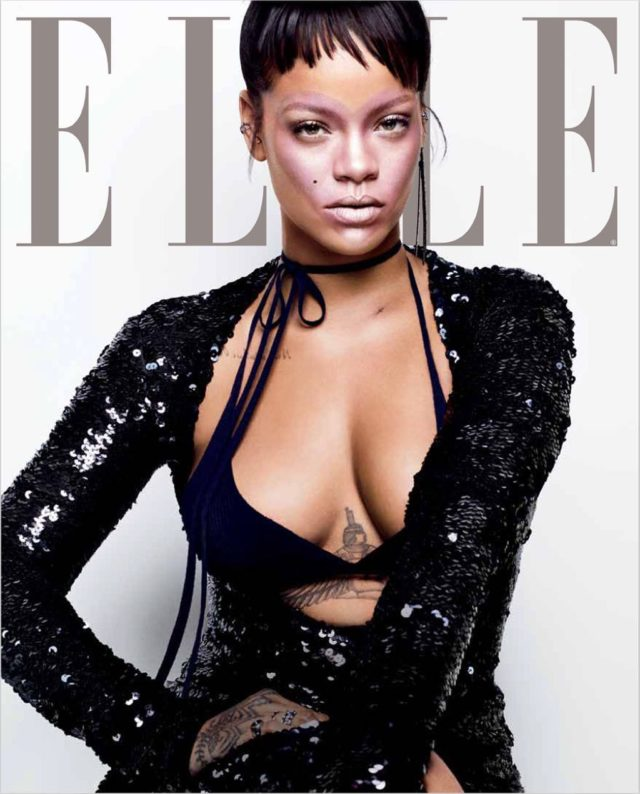 Rihanna X ELLE October 2017