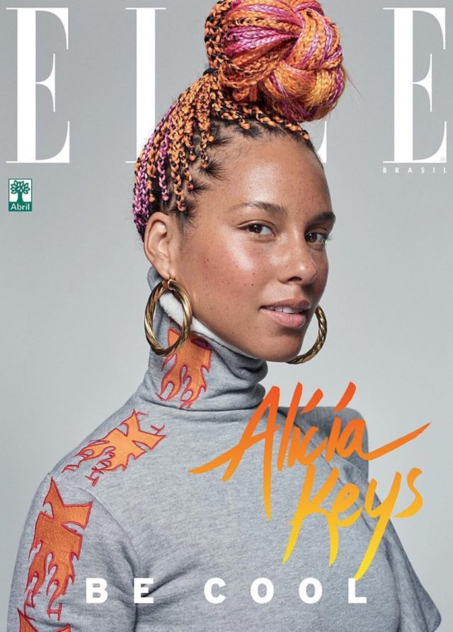 Alicia Keys X ELLE Brasil September 2017